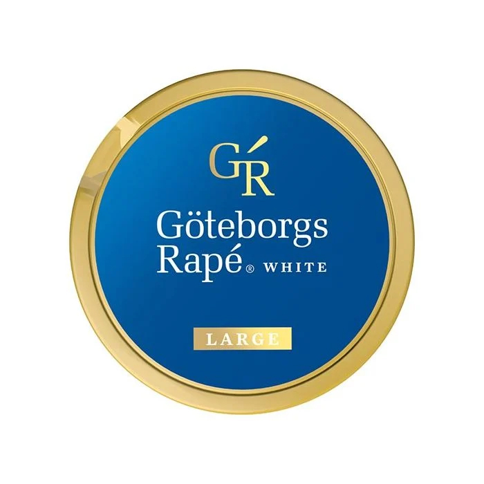 Göteborgs Rapé White Chewing Bags